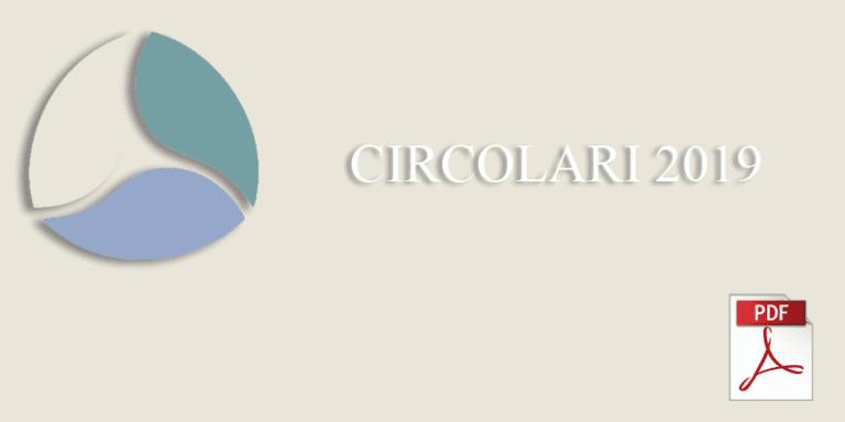 Circolare n. 3 del 21.01.2019- – Finanziari 2019 in tema di definizione agevolata